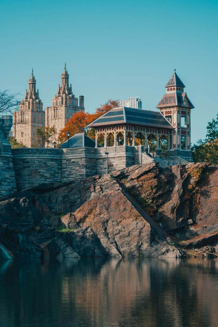 Belvedere Castle in NY at Central Park