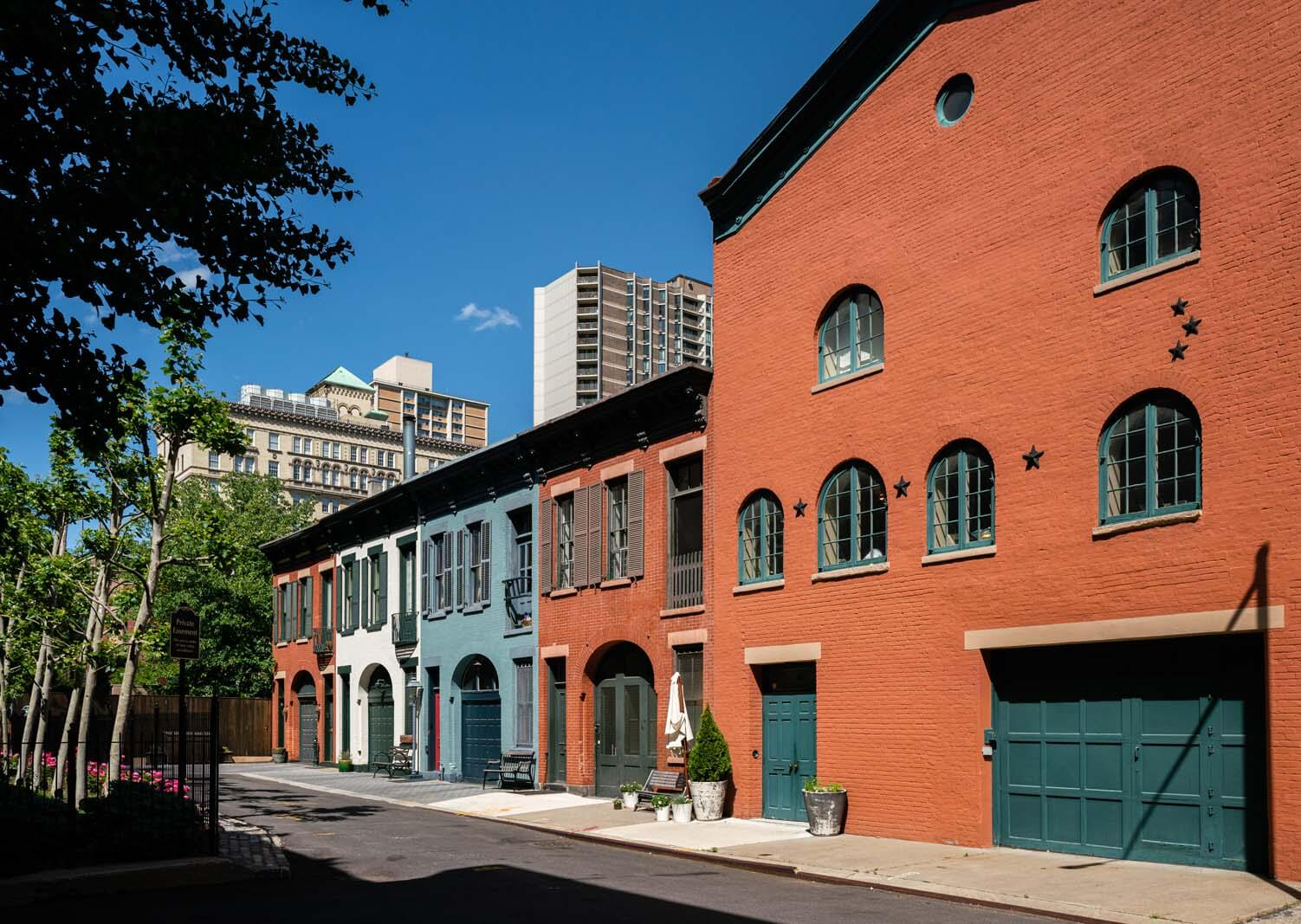 College Place Mews in Brooklyn Heights