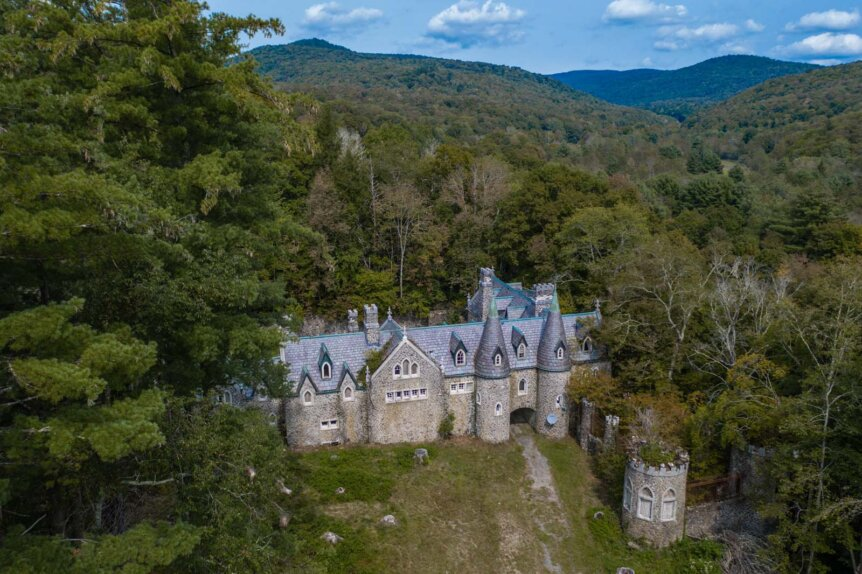 Dundas Castle in Roscoe New York