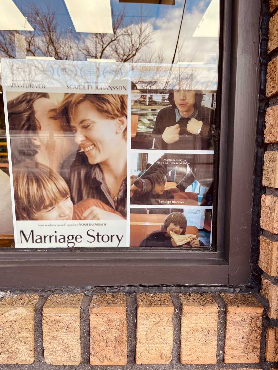 Marriage-Story-Filming-location-in-Park-Slope-Brooklyn-at-Pinos-la-forchetta-pizza-on-7th-ave