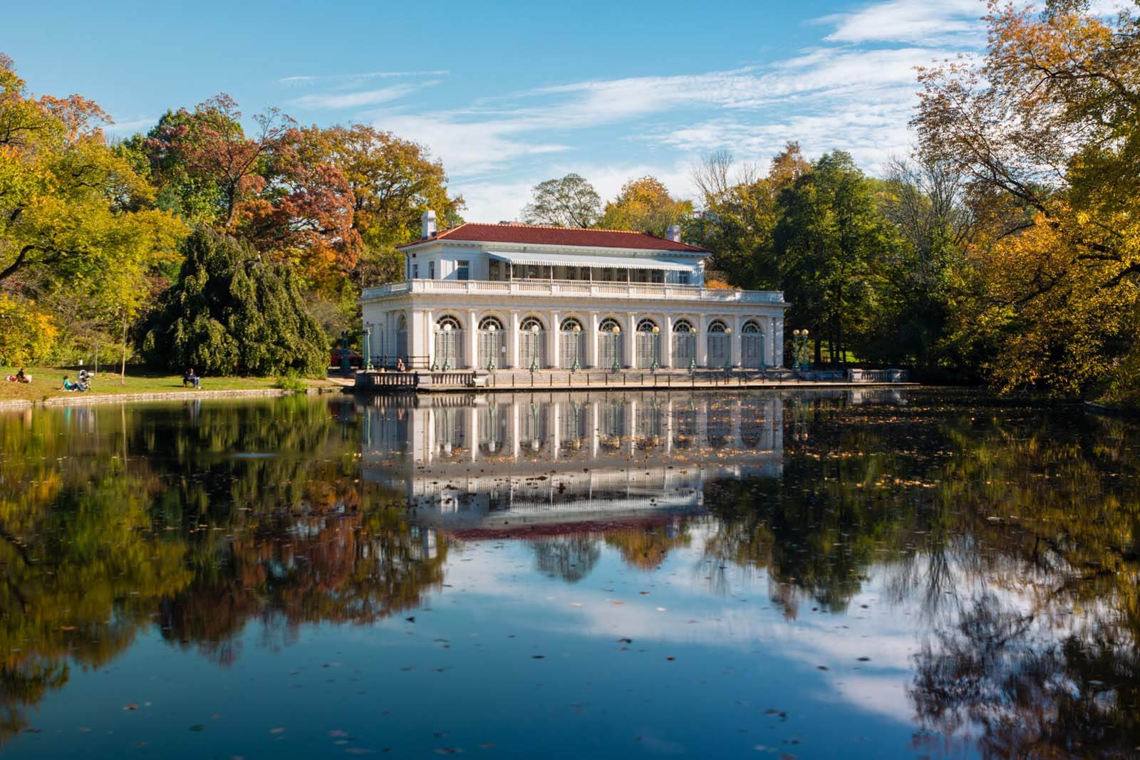 Prospect Park Boathouse in Brooklyn