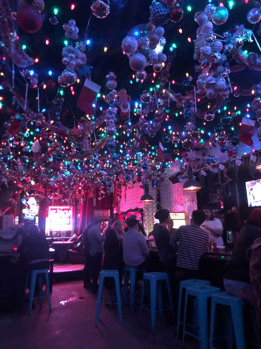 pop-up-christmas-bar-in-NYC in 2019