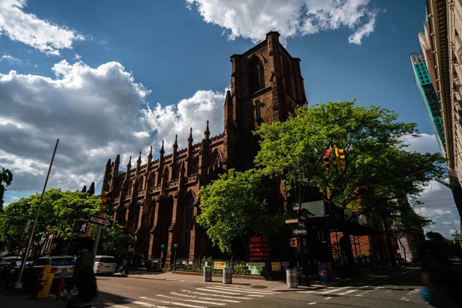 Church on Montague Street in Brooklyn Heights