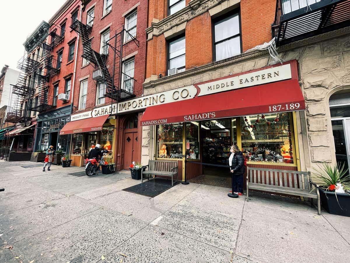 Sahadis original location in Brooklyn