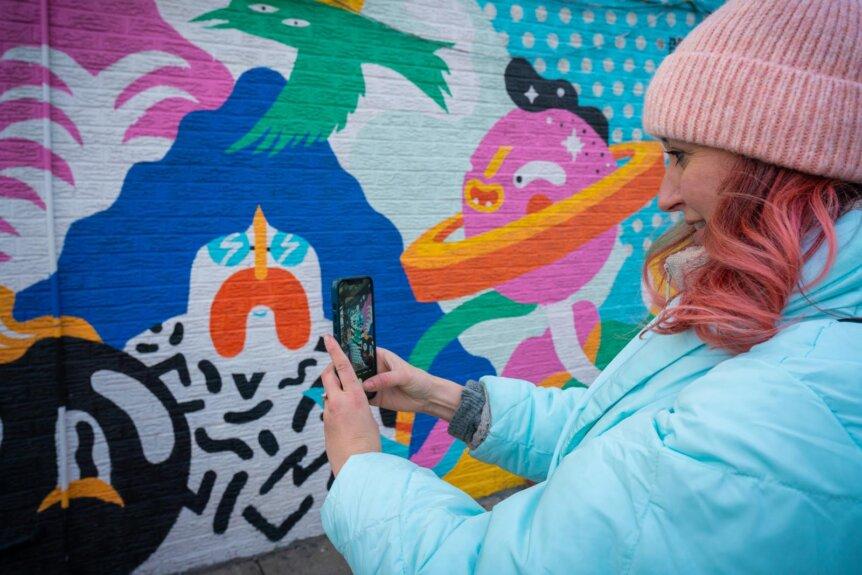 Street art hunt in Williamsburg Brooklyn
