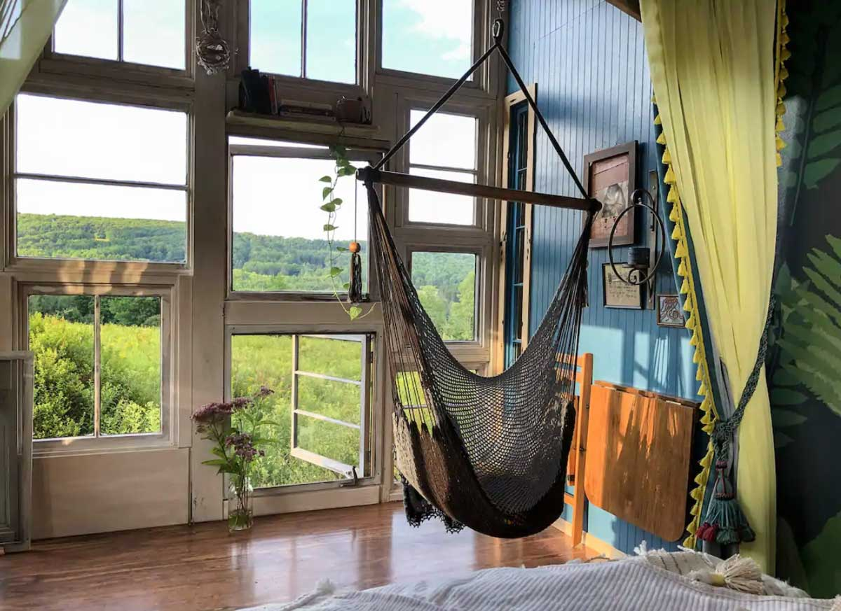 Unique airbnb in upstate new york