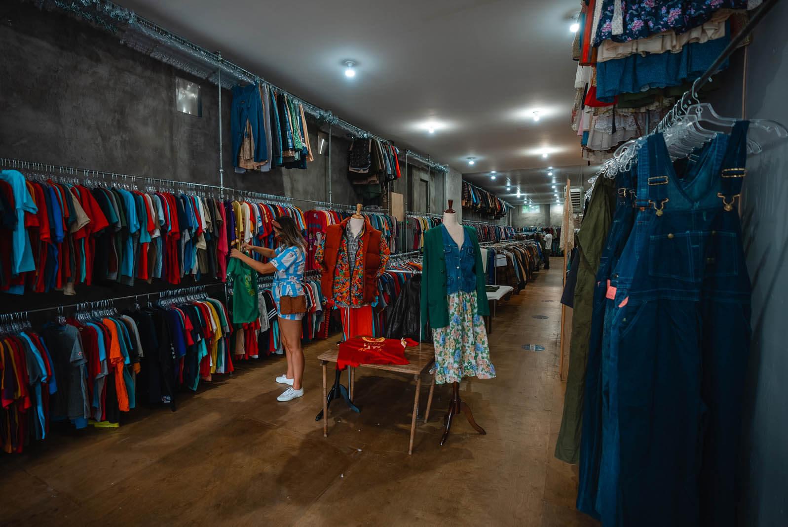 shopping in Brooklyn Brickhouse Vintage in Williamsburg Brooklyn
