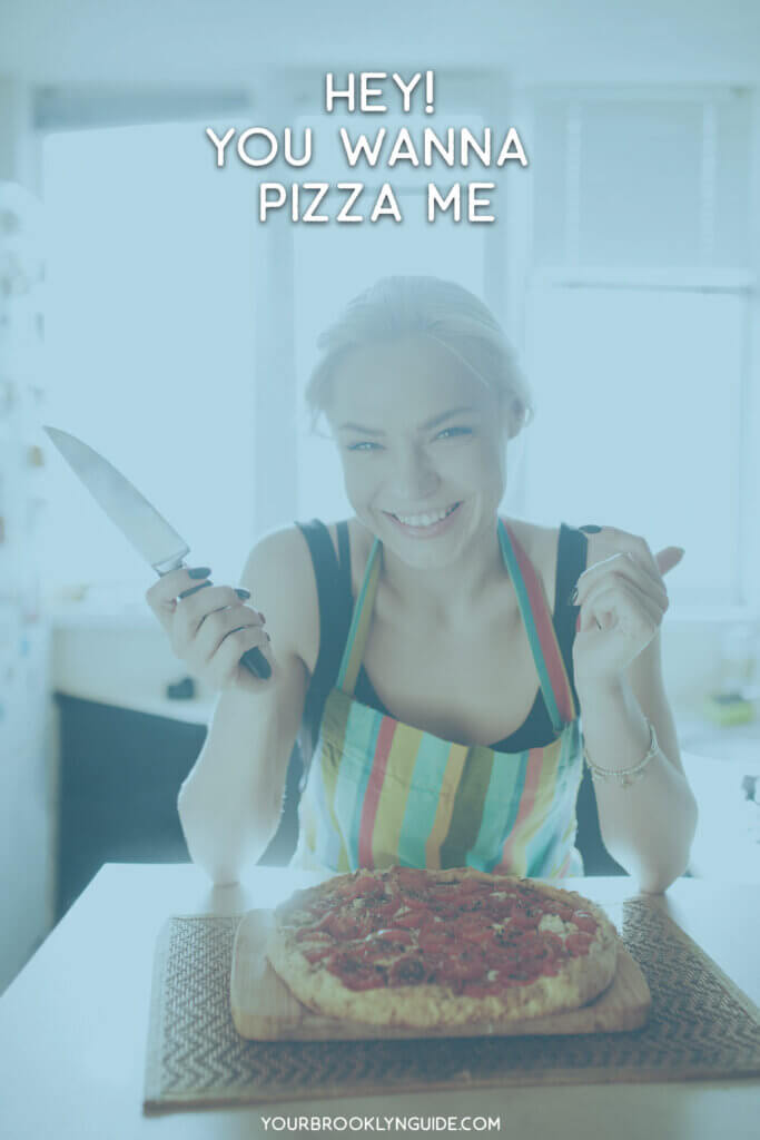 An-image-of-a-girl-with-a-big-smile-holding-a-knife-over-a-fresh-pizza-with-the-caption-hey-you-wanna-pizza-me-