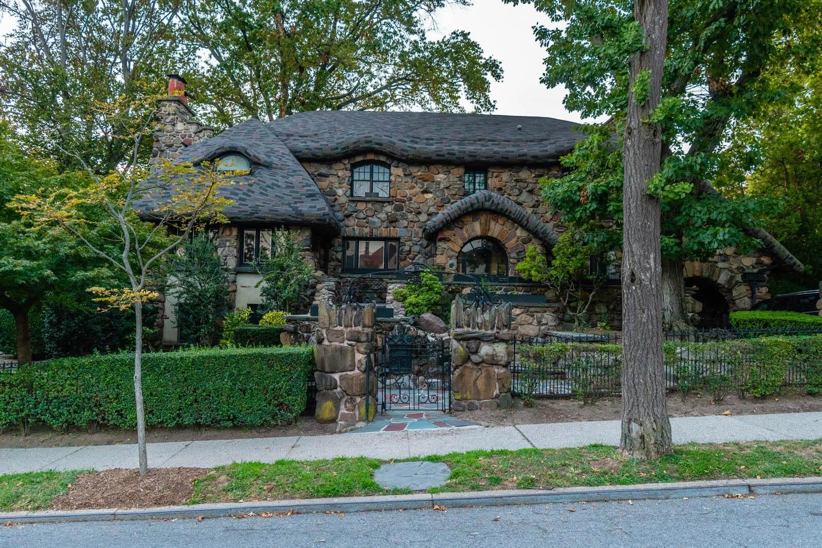 Gingerbread house of Bay Ridge Brooklyn