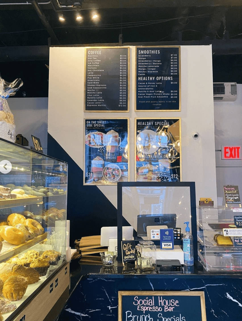 Social House Café in Williamsburg Brooklyn by Quoffee Quest