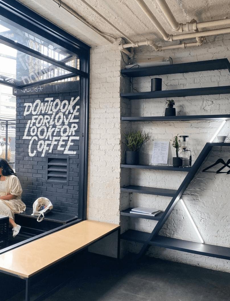 Sweatshop Coffee in Williamsburg Brooklyn by Quoffee Quest