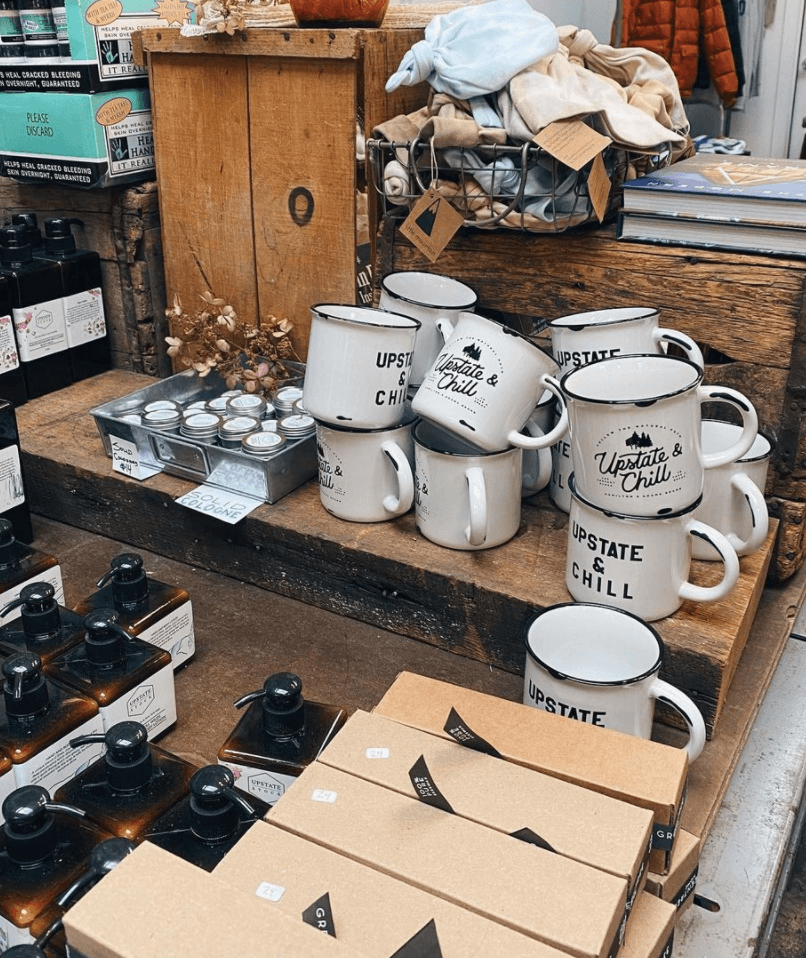 Upstate Stock store and cafe in Williamsburg Brooklyn by Quoffee Quest