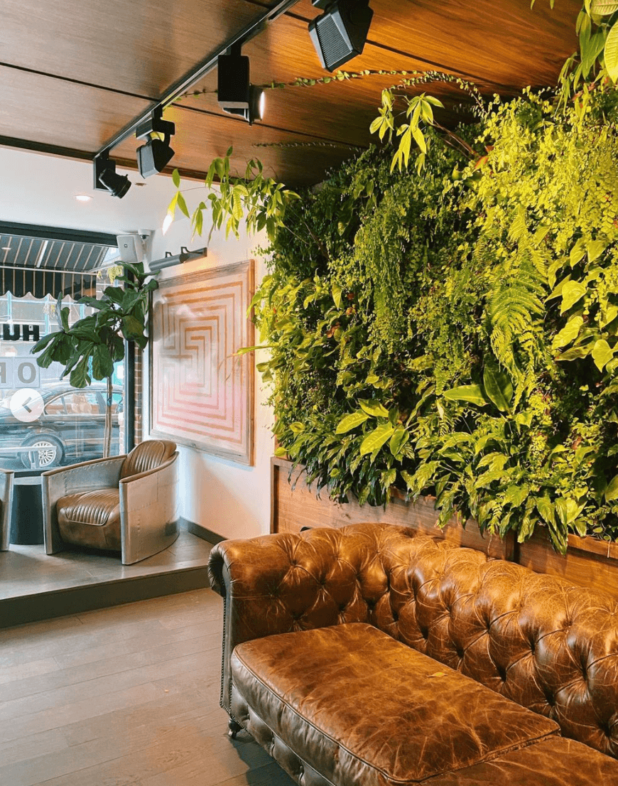 interior of Hungry Ghost Coffee shop in Brooklyn by Quoffee Quest