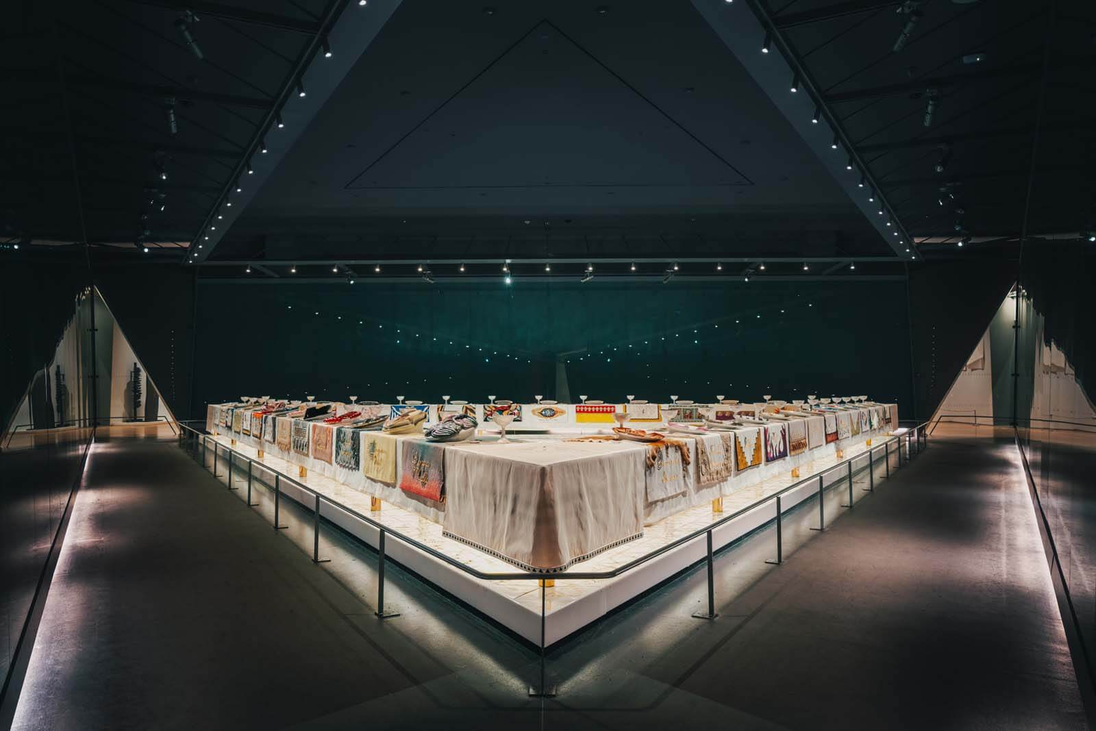 Brooklyn Museum - Dinner Party by Judy Chicago