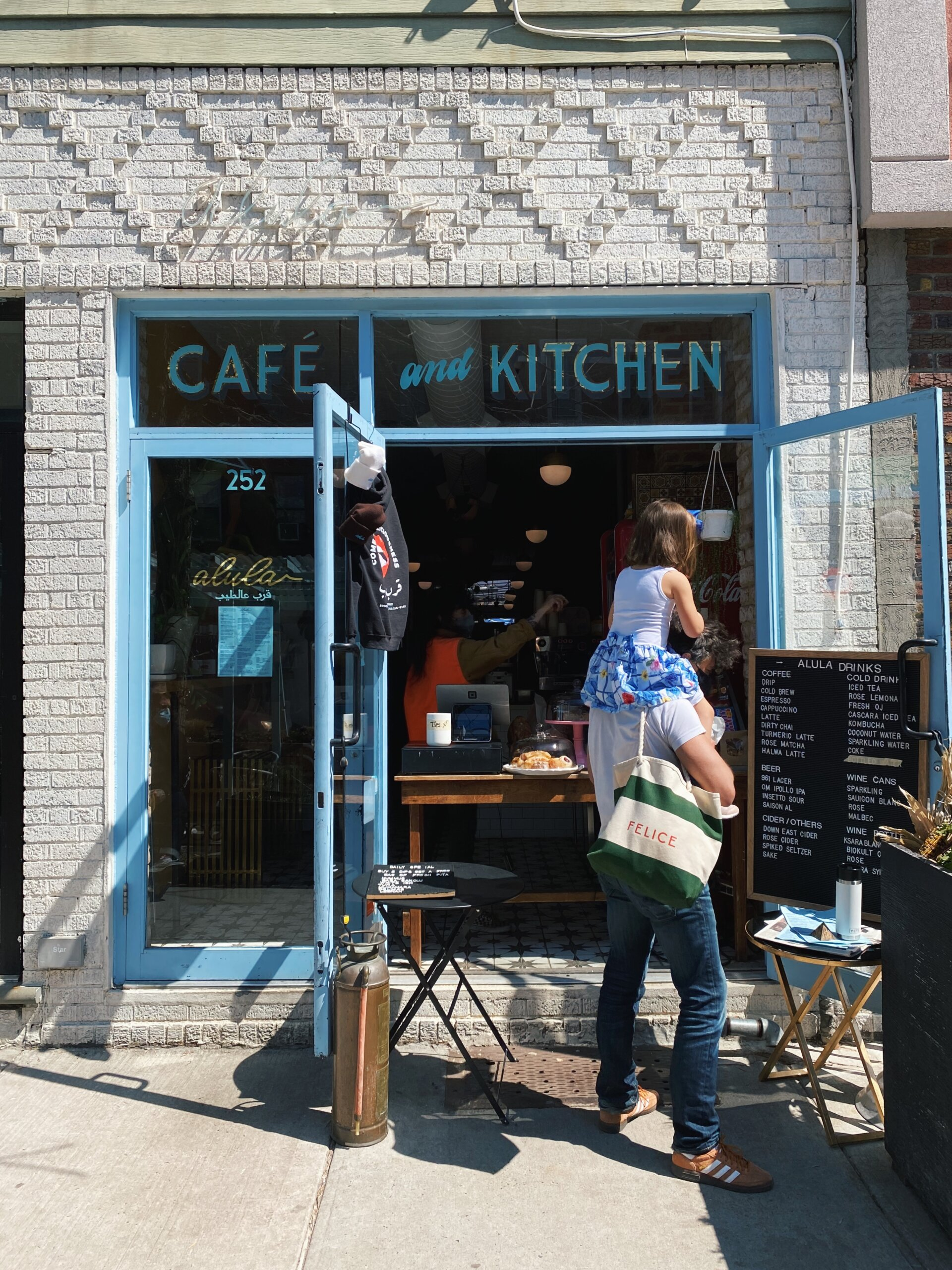 Cafe Alula in Greenpoint Brooklyn By Quoffee Quest