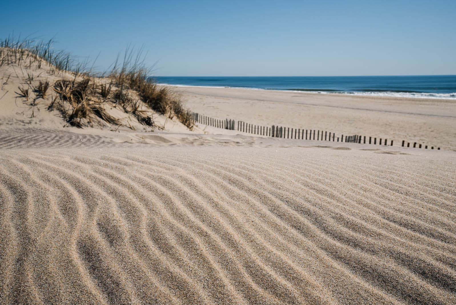 Coopers Beach in Southhampton in the Hamptons New York