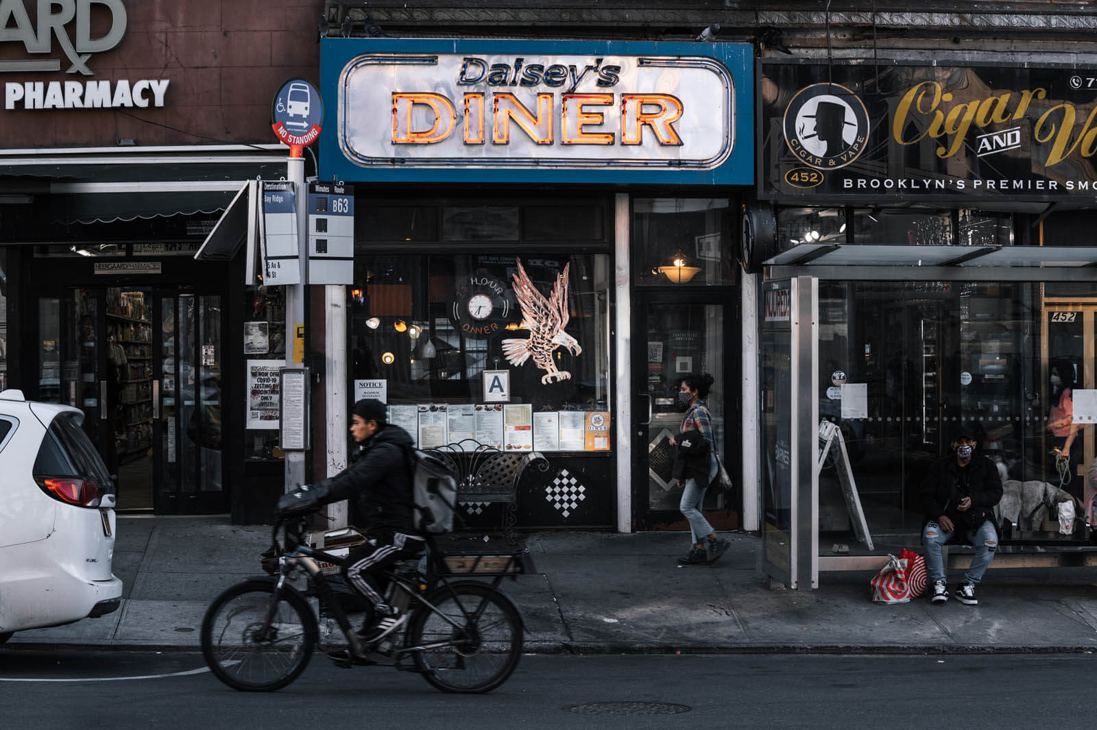 Daisy's Diner in Brooklyn on 5th ave in Park Slope