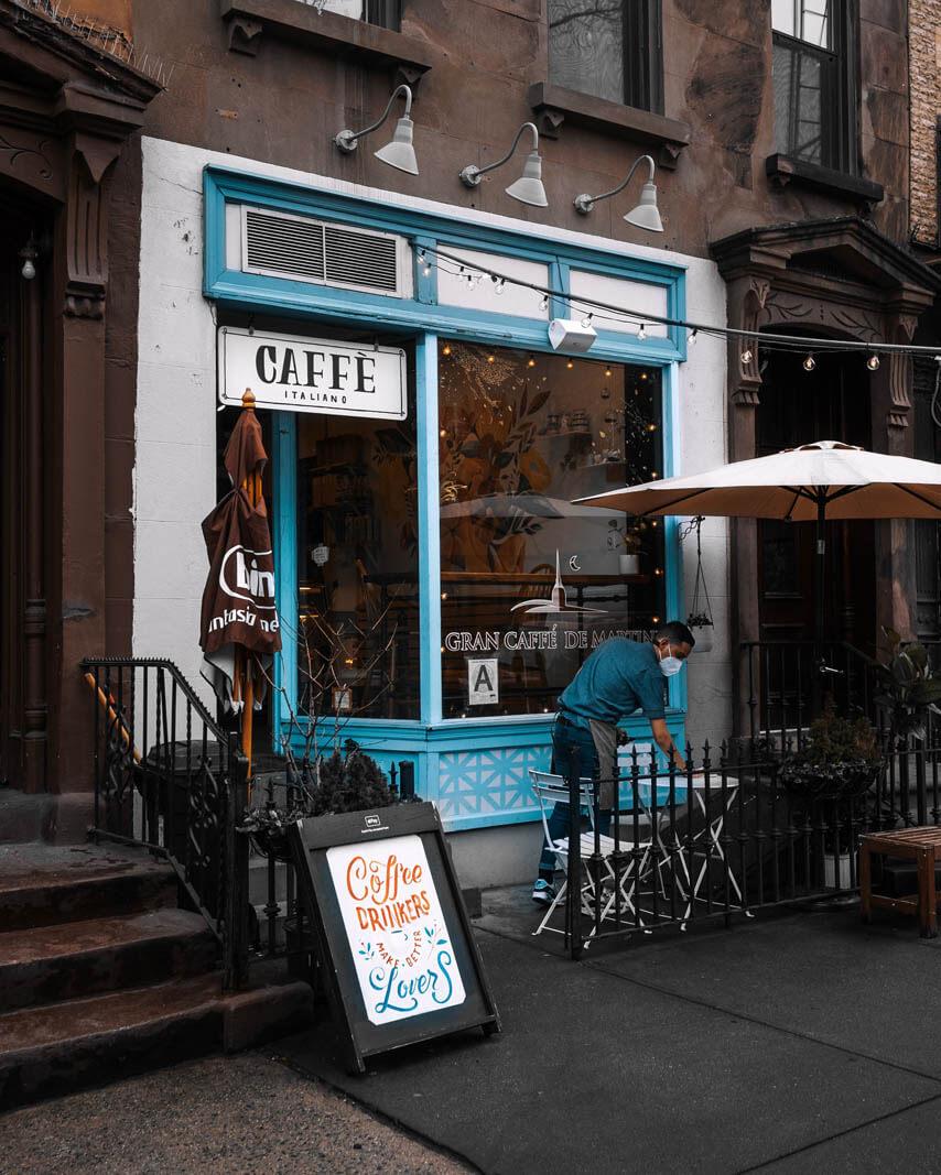 Gran Caffee de Martini in Prospect Heights Brooklyn