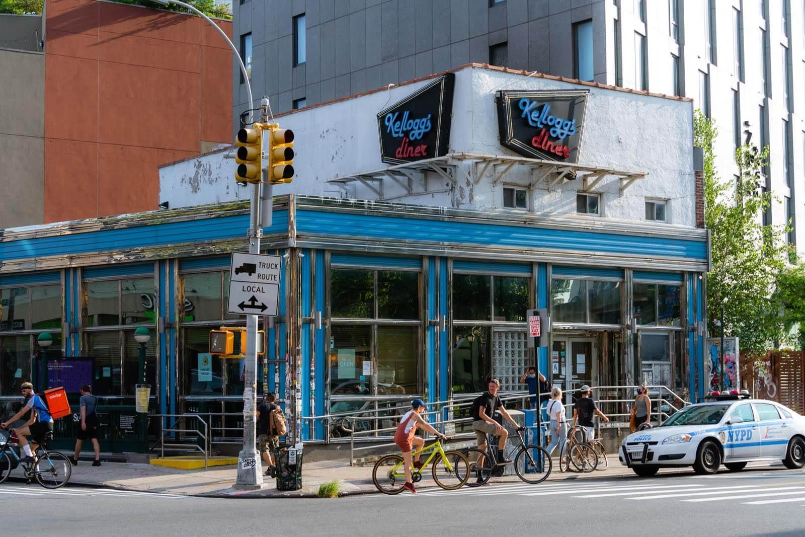 Kellogs Diner in Brooklyn located in Williamsburg