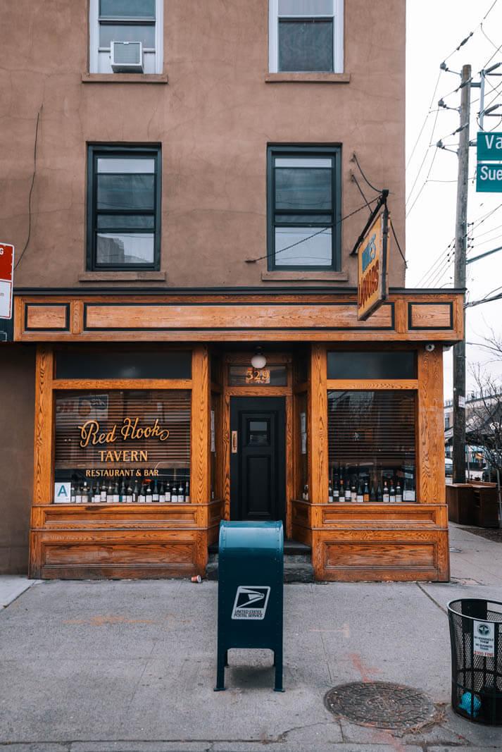 Red Hook Tavern on Van Brunt Street in Brooklyn