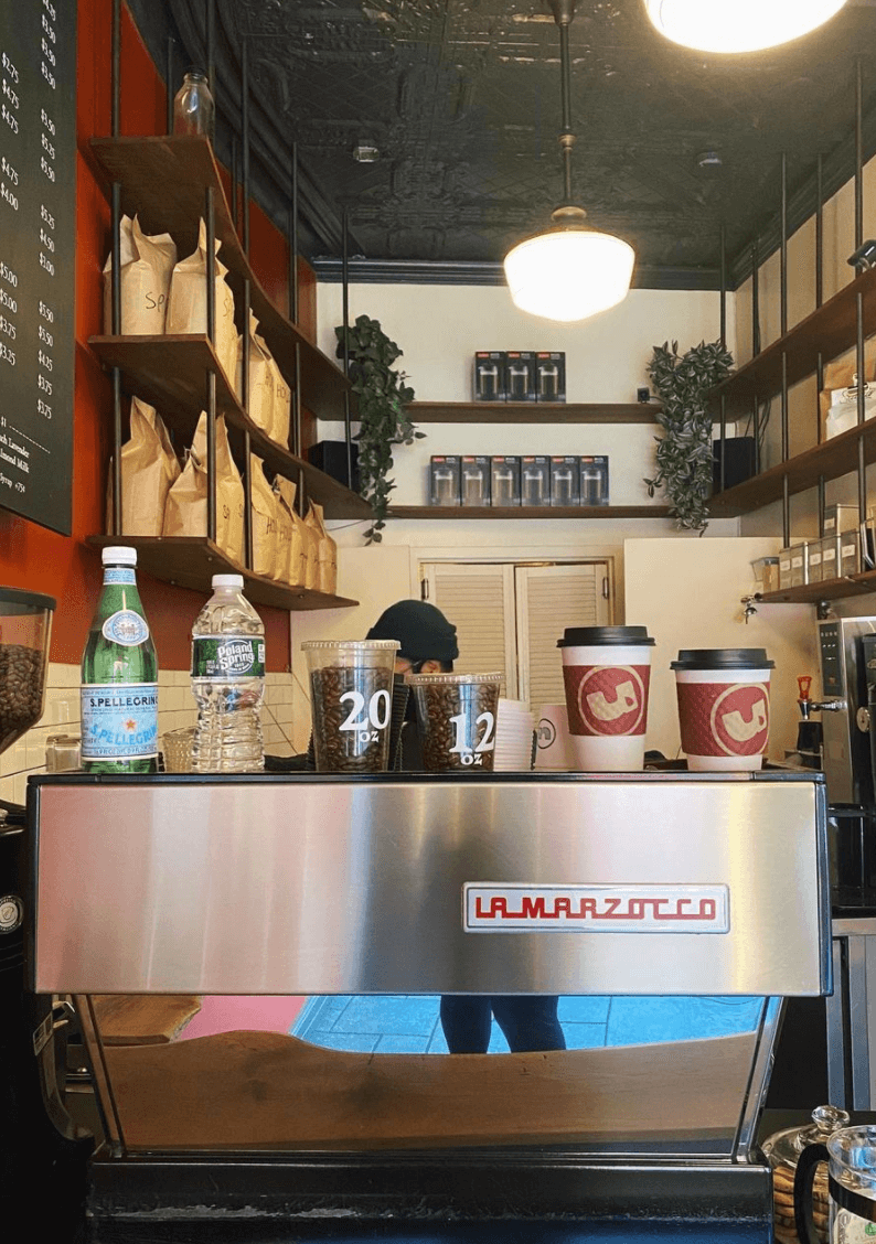 Upright Coffee shop in greenpoint brooklyn by quoffee quest