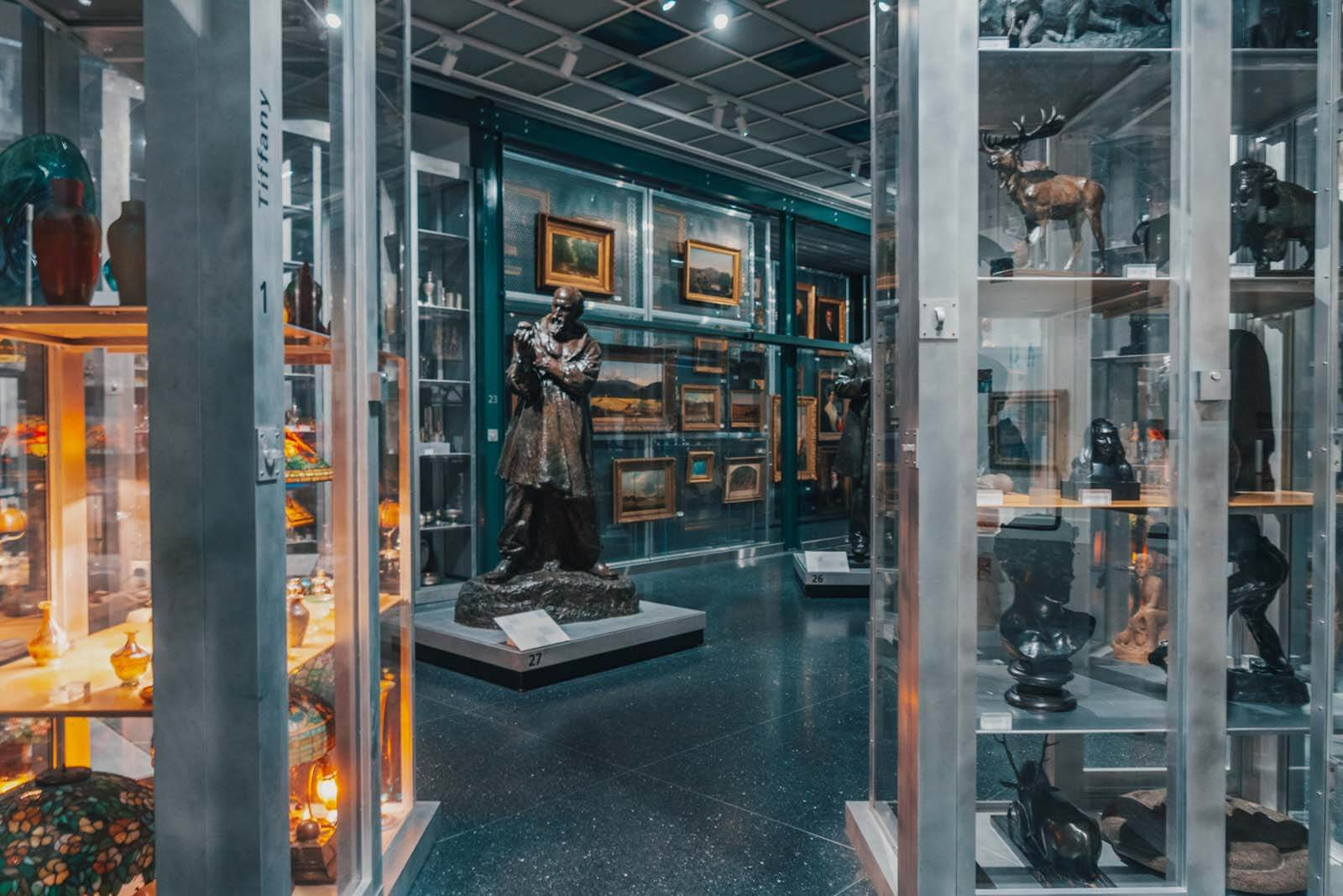 Visible Storage in the Brooklyn Museum