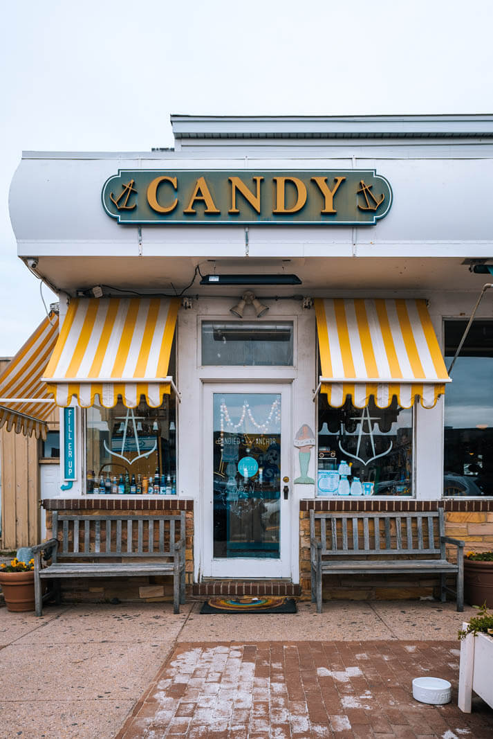 cute candy store in Montauk NY