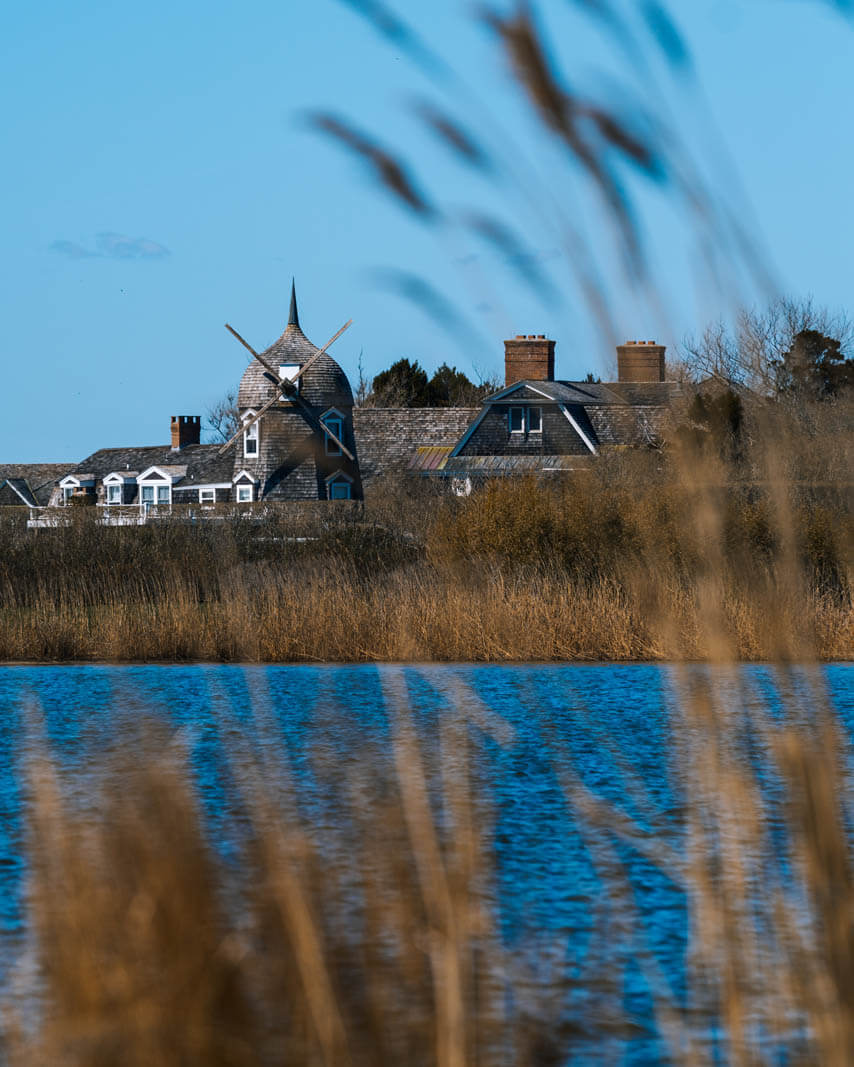 gorgeous windmill home in Southhampton in the Hamptons New York