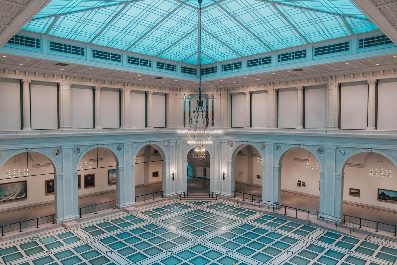 inside the Brooklyn Museum