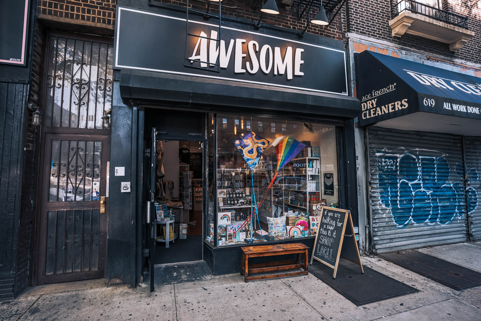 Awesome Brooklyn gift store on Flatbush Ave in Prospect Lefferts Gardens