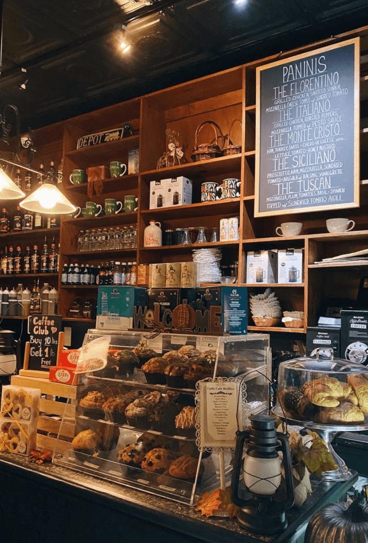 Caffé Café in Bay Ridge Brooklyn by Quoffee Quest