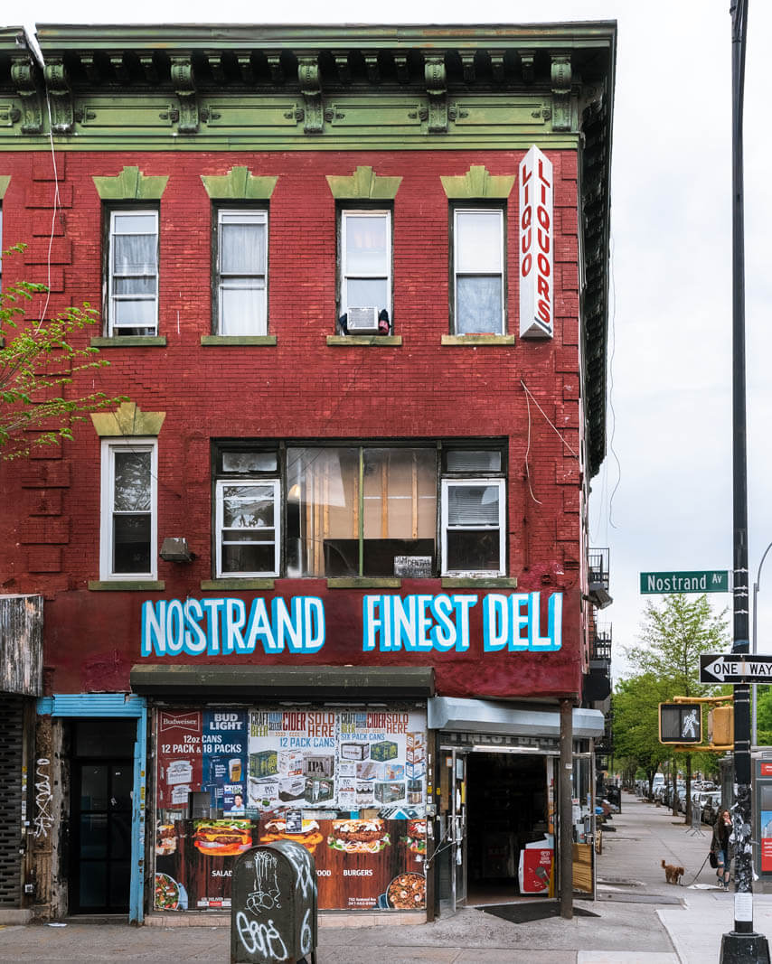 Nostrand Finest Deli in Crown Heights Brooklyn