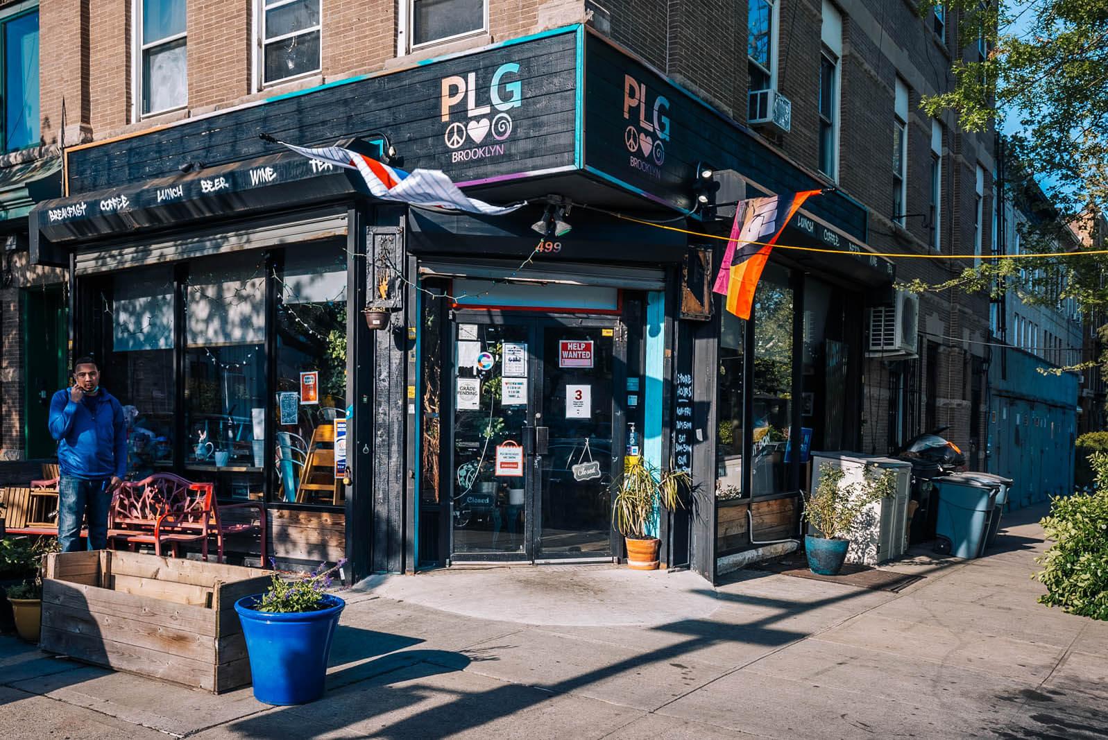 PLG Coffee House in Prospect Lefferts Gardens Brooklyn