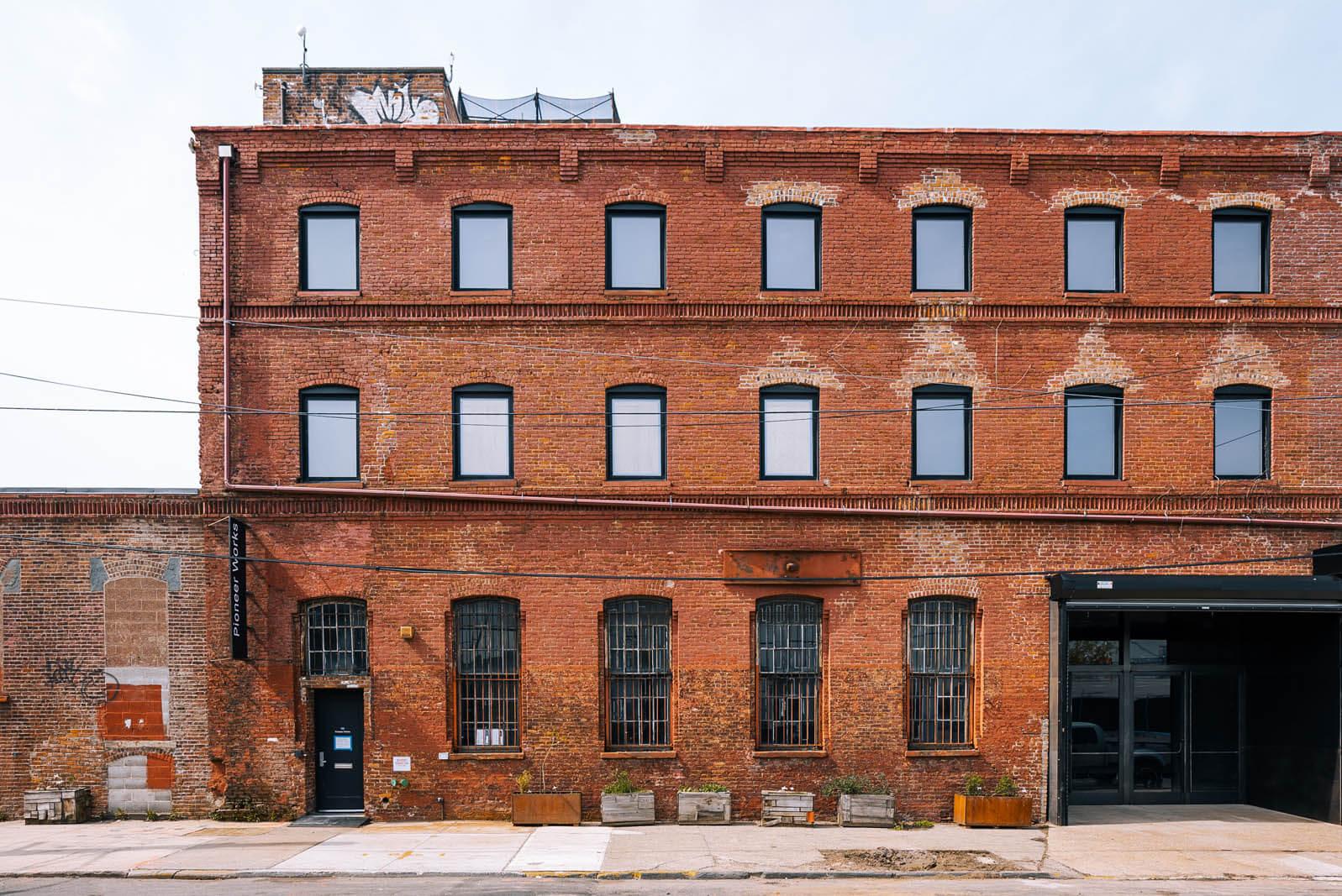 Pioneer Works art gallery in Red Hook Brooklyn