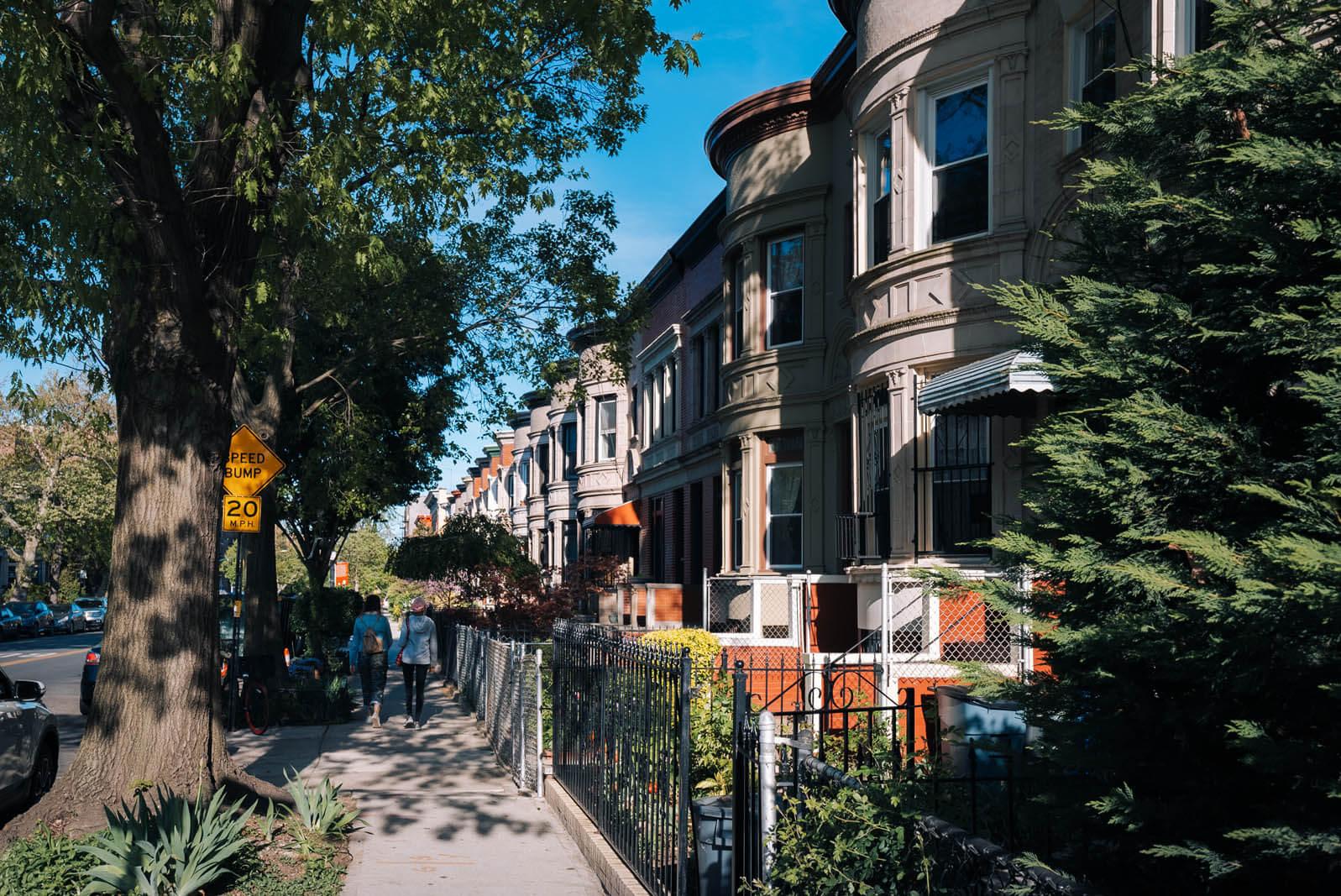 Prospect Lefferts Garden Historic District in Brooklyn