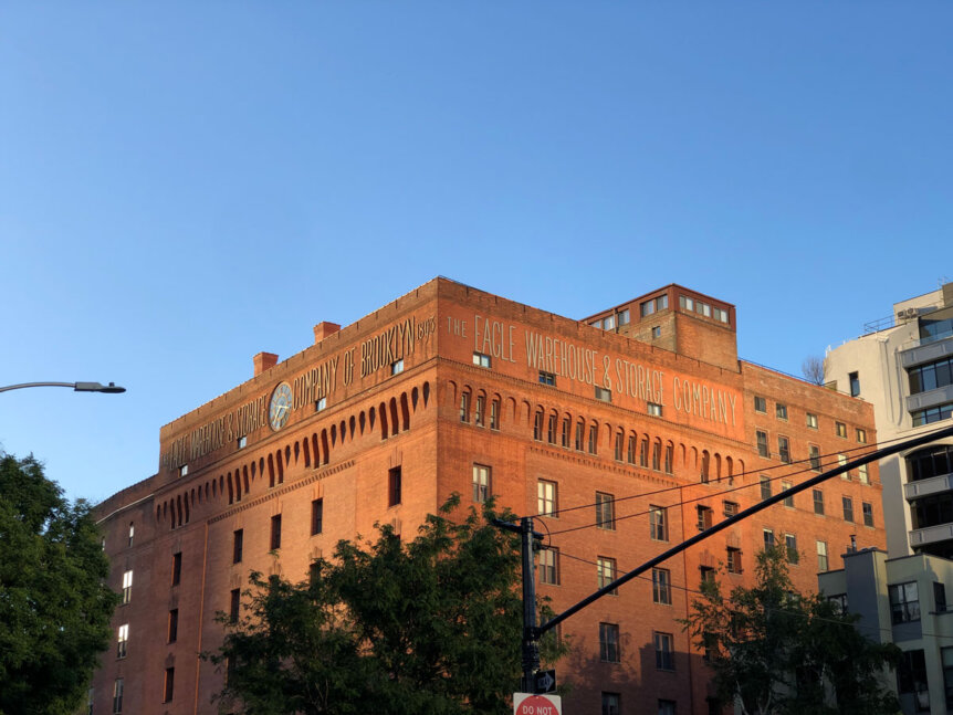Eagle-Warehouse-and-Storage-Company-building-in-DUMBO-Brooklyn