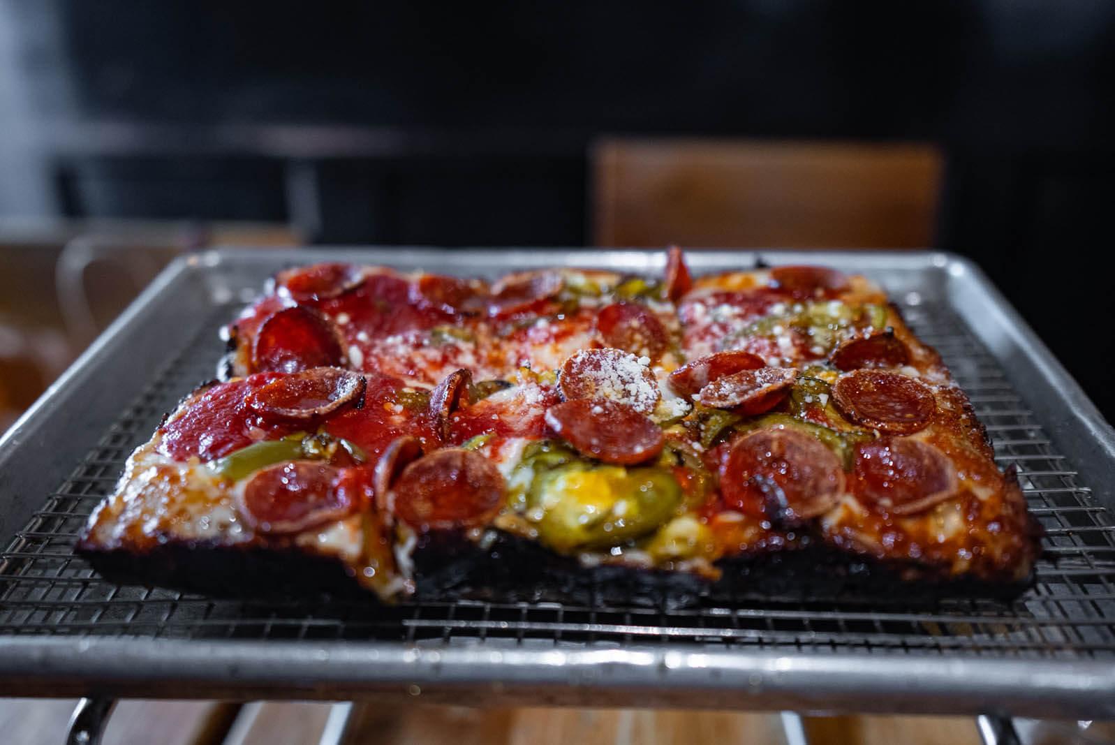 Emmy Squared pizza in Williamsburg Brooklyn