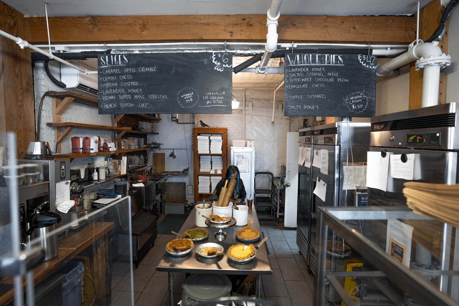 Four and Twenty Blackbird pie shop and bakery in Gowanus Brooklyn