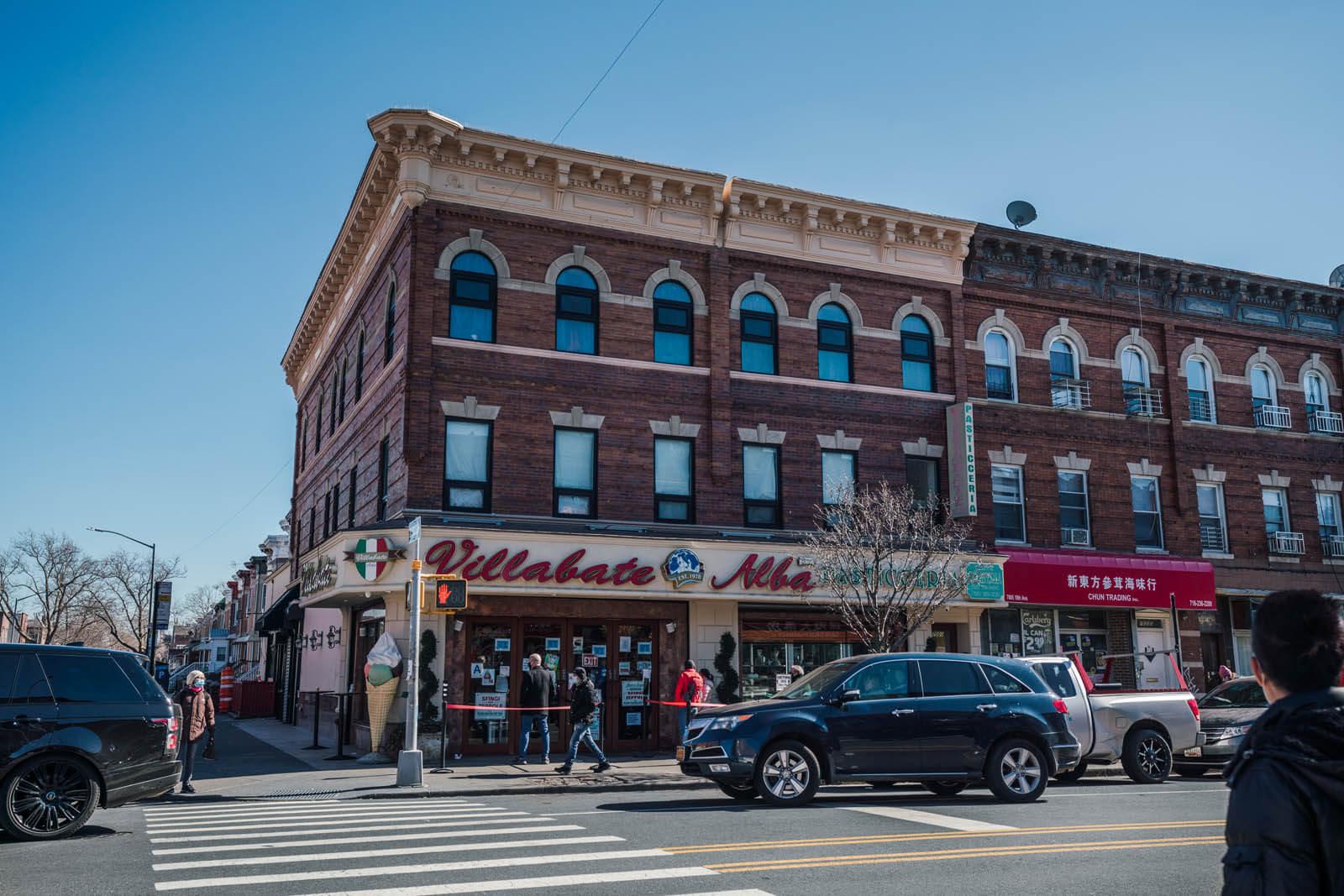 Villabate Alba bakery in Brooklyn in Bensonhurst