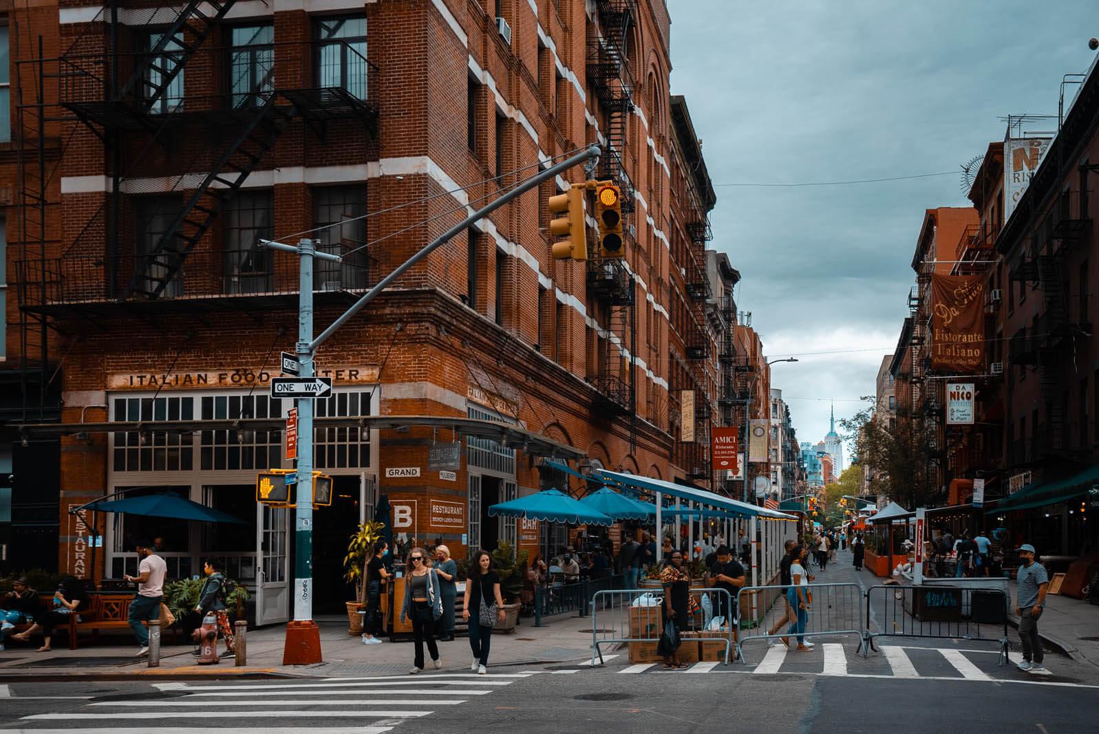Little Italy in Manhattan NYC
