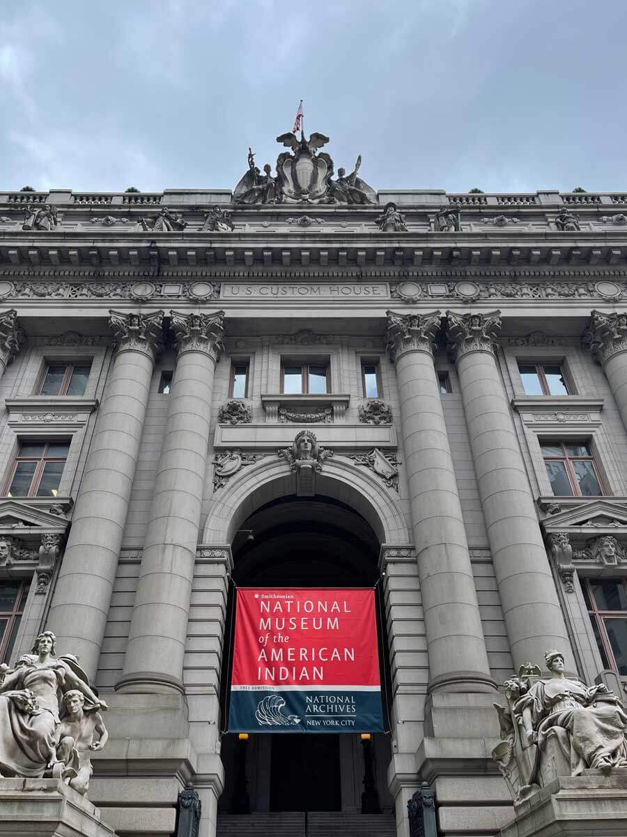 National-Museum-of-the-American-Indian-next-to-Bowling-Green-in-Manhattan-NYC