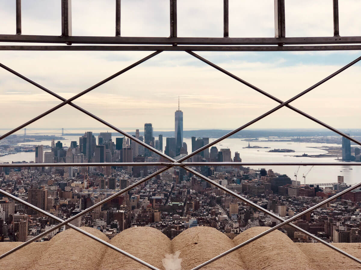 Empire-State-Building-view-of-the-world-trade-center-in-nyc