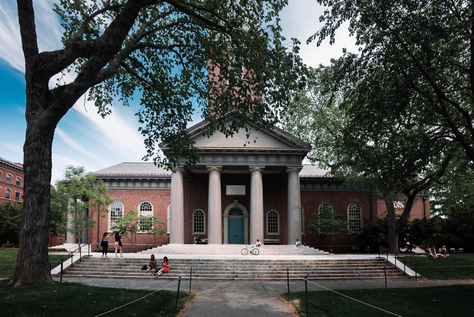 Harvard University in Cambridge Massachusetts Boston getaway