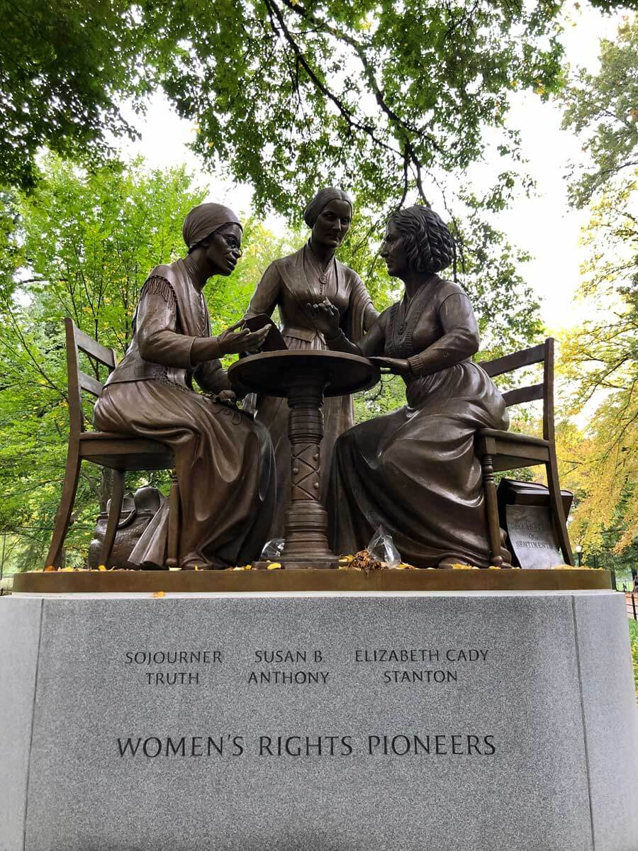 Womens-Rights-Pioneers-monument-in-Central-Park-NYC