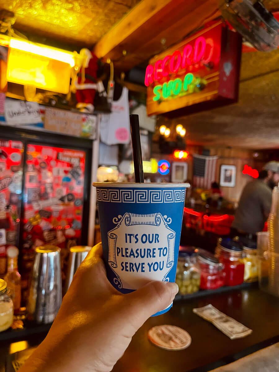 frozen-coffee-cocktail-at-rocka-rolla-bar-in-Williamsburg-Brooklyn