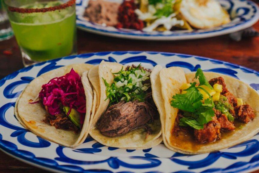 Chavelas tacos in Crown Heights Brooklyn