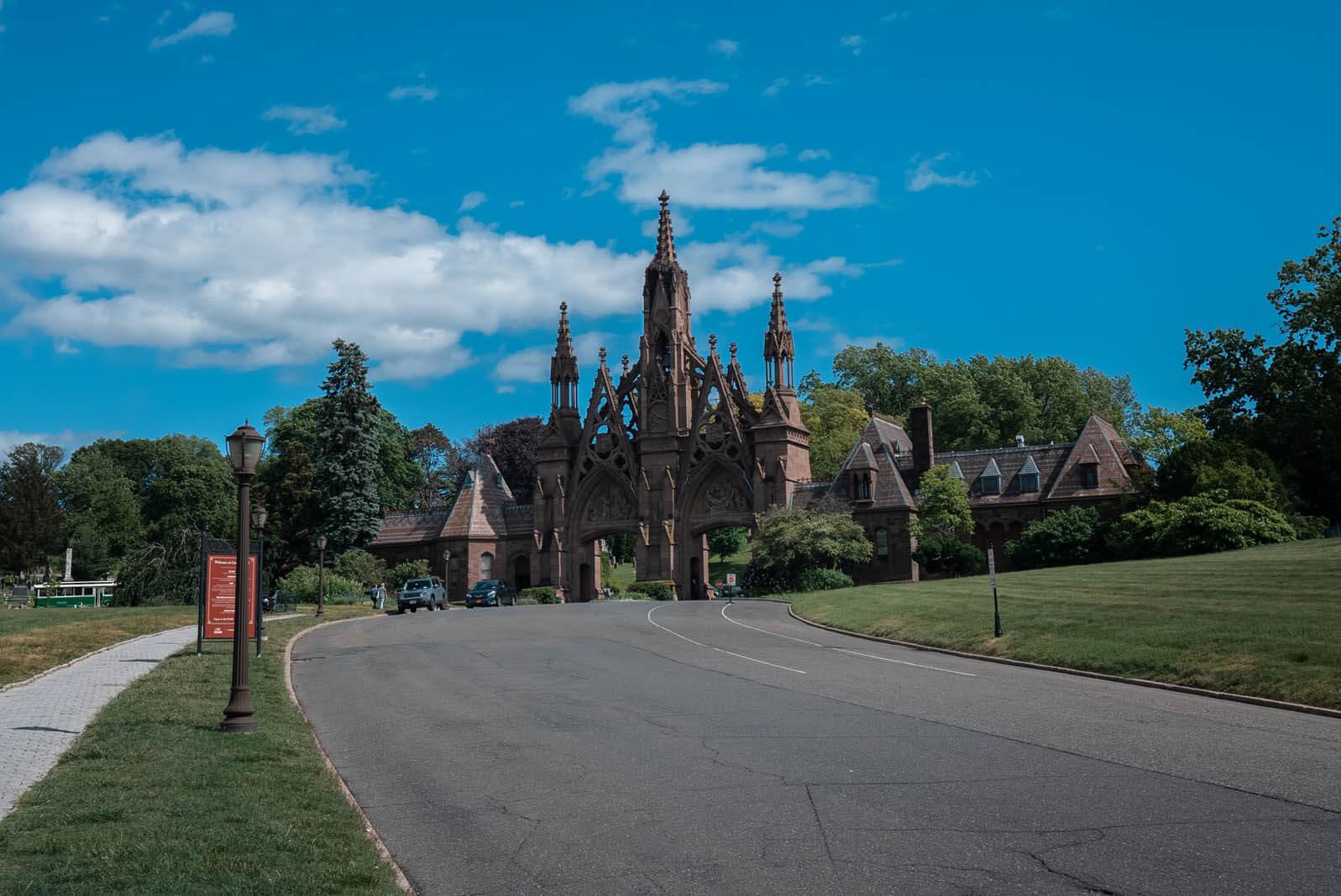 Greenwood Cemetery Main Entrance