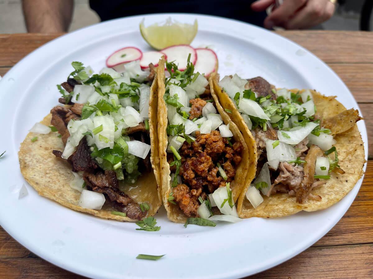 San-Pedro-Inn-taco-plate-in-Red-Hook-Brooklyn