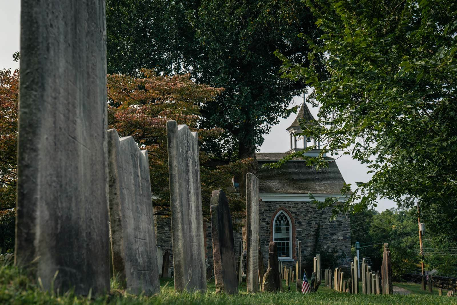 The Old Dutch Reformed Church in Sleepy Hollow