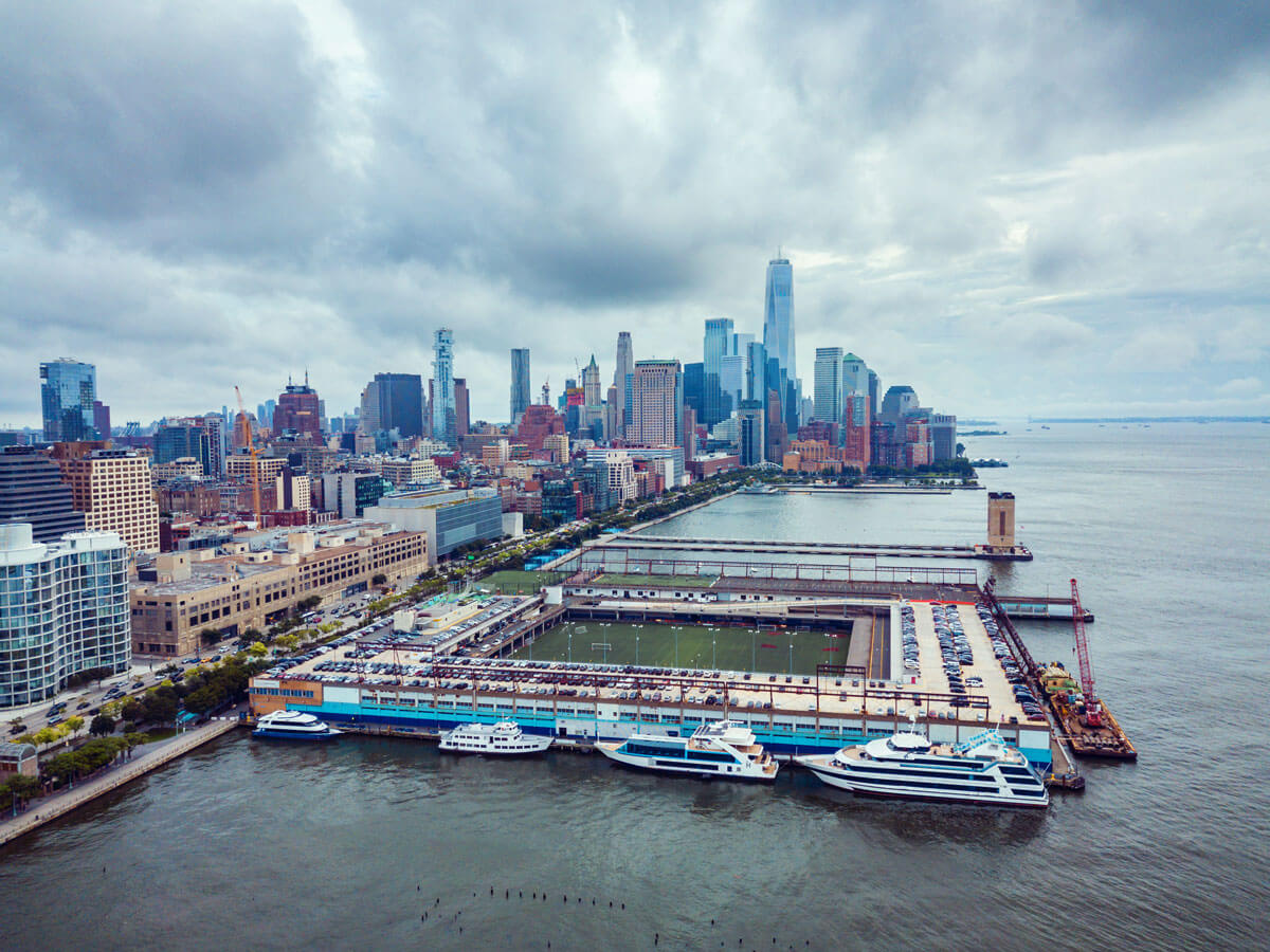 aerial-view-of-pier-40-in-nyc-along-the-hudson-river-park
